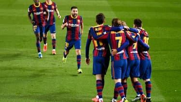 Le Barça en finale de Coupe du roi