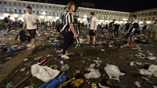 Le mouvement de panique à Turin avait fait plus de 1 500 blessés