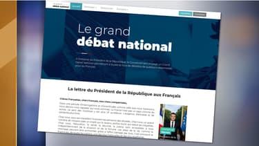 Le site du grand débat a été lancé le 15 janvier.
