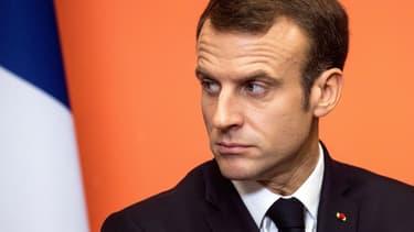 Emmanuel Macron le 9 novembre 2018 à Lens