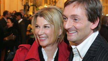 Michèle Laroque et Pierre Palmade en 2006