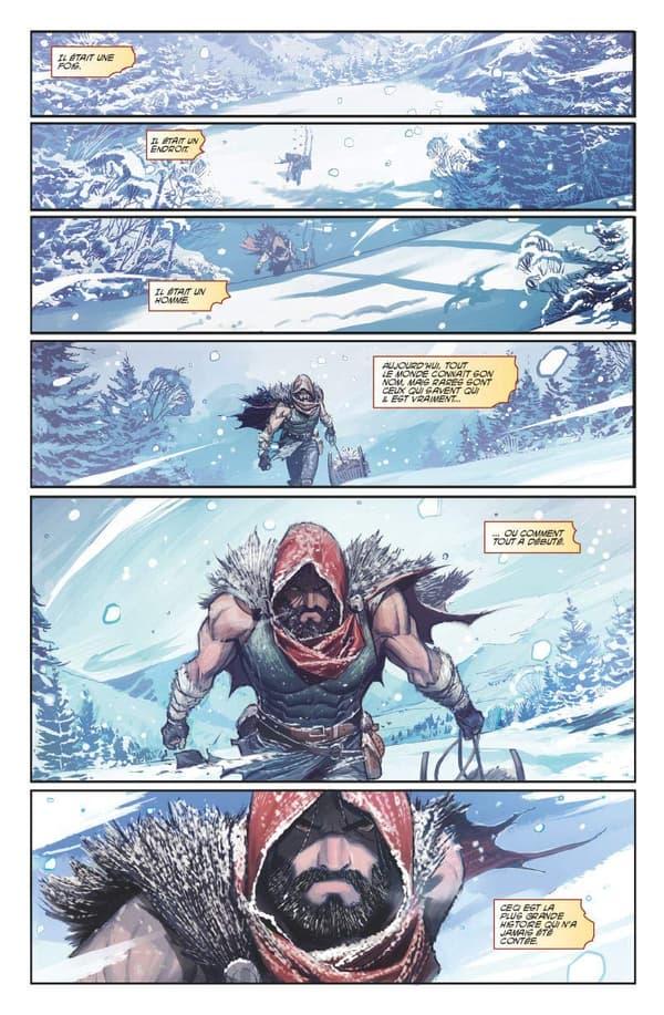 Père Noël en comics