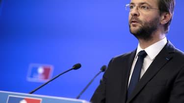 Jérôme Lavrilleux, en 2012, au siège du parti.