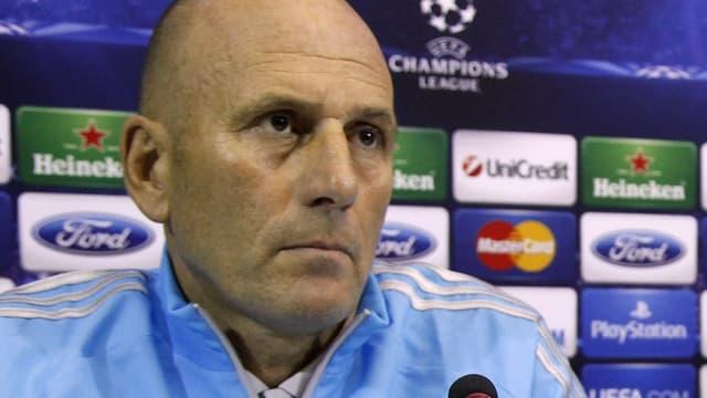 Elie Baup, l'entraîneur de l'OM