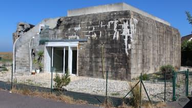 Ce blockhaus de 1943 a été transformé en résidence secondaire.