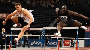 Ladji Doucouré a disputé sa dernière course à Bordeaux lors du 60m haies des championnats de France.