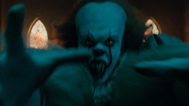 """Le clown terrifiant de """"Ca""""."""