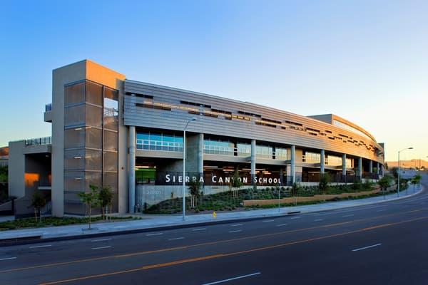 Le campus hyper moderne de Sierra Canyon, à Chatsworth, quartier de Los Angeles