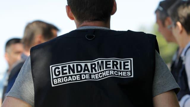 Un gendarme d'une brigade de recherches  (Photo d'illustration)