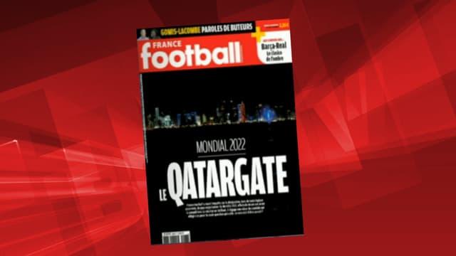 Selon France Football, le Qatar aurait acheté l'attribution de la Coupe du monde 2022.