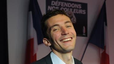 Julien Sanchez, candidat FN, le 25 janvier dernier.