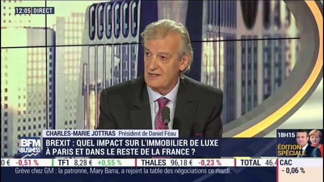 Charles-Marie Jottras, président du réseau Daniel Féau