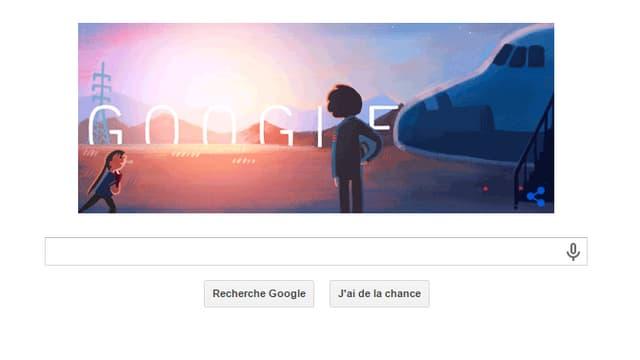 Sally Ride aurait eu 64 ans aujourd'hui. Google célèbre cet anniversaire avec un doodle.