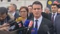 Manuel Valls était en déplacement vendredi à Cognac et Angoulême.