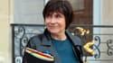 Marie-Arlette Carlotti le 19 mars 2014 à la sortie de l'Elysée.