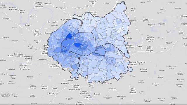 La Fnaim a lancé jeudi le tout premier indice d'attractivité immobilière des villes du Grand Paris.