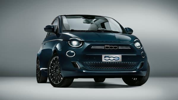 La version de lancement de la nouvelle Fiat 500 électrique sera commercialisée 37.900 euros.