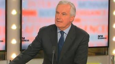 Michel Barnier était l'invité de BFM Business, ce lundi 11 novembre.