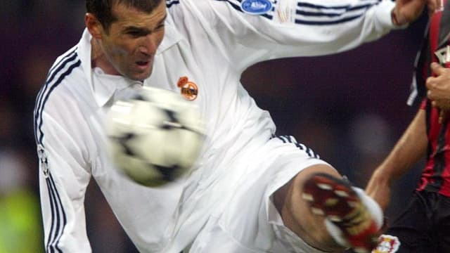 Zinédine Zidane a mis un peu de temps avant de digérer le prix de son transfert