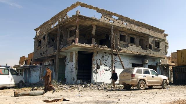 A Benghazi, le 23 février.
