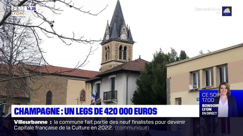 Champagne-au-Mont-d'Or: une ancienne habitante lègue 420.000 euros à la commune