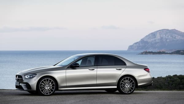 La nouvelle Mercedes Classe E.