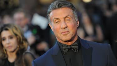 Sylvester Stallone le 2 février 2016 avant la cérémonie des Oscars