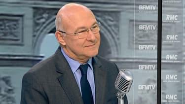Michel sapin, ministre du Travail, invité de BFMTV et RMC ce 30 janvier