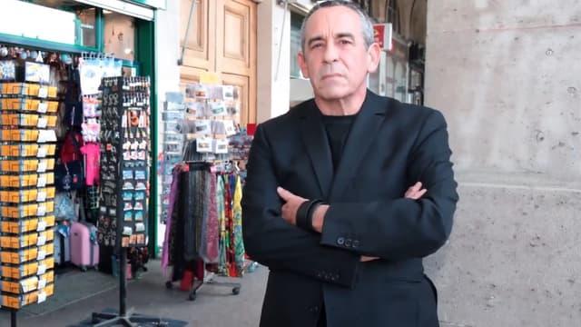 Thierry Ardisson à la tête de l'Association de Défense des Arcades Rivoli depuis 2015.