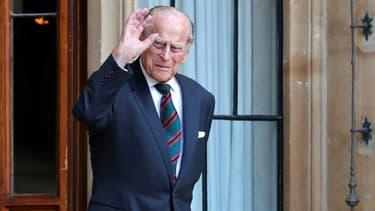 Le prince Philip, le 22 juillet 2020 au château de Windsor