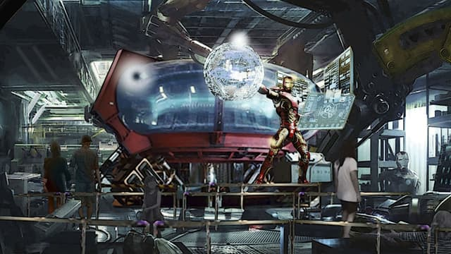 Une nouvelle attraction proposera aux visiteurs de Disneyland Paris de faire équipe avec Iron Man.