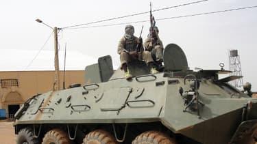 Des rebelles islamistes du Mujao au Mali, en janvier dernier.