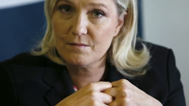 Marine Le Pen, le 19 février 2016. -