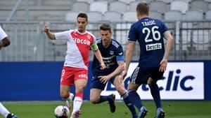 Wissam Ben Yedder lors de Bordeaux-Monaco