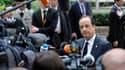 François Hollande considère que le sommet européen de Bruxelles a permis d'aboutir à la renégociation du pacte budgétaire qu'il souhaitait. /Photo prise le 29 juin 2012/REUTERS/Eric Vidal