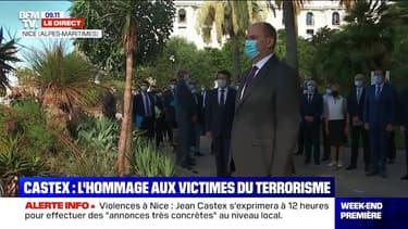 Le Premier ministre rend hommage aux victimes de l'attentat de Nice