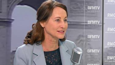 Ségolène Royal souhaite un gel des tarifs des autoroutes en 2015. Ici le 16 décembre 2014 sur BFMTV.