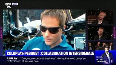 Coldpay lance son nouveau single depuis l'espace grâce à Thomas Pesquet