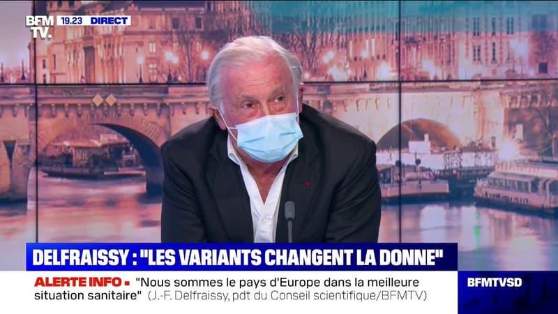 """Jean-François Delfraissy: """"Il faudra probablement aller vers un confinement"""""""