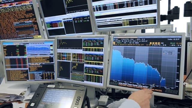 La Bourse de Paris a bien accueilli les chiffres de la croissance américaine.