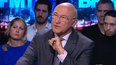 Michel Sapin sur le plateau de BFMTV, dimanche 1er décembre.