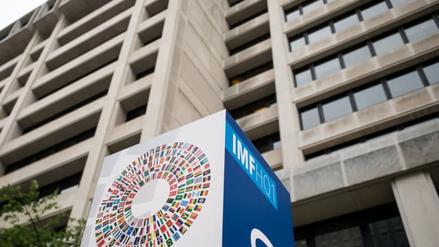 Vue du siège du Fonds monétaire international (image d'illustration)