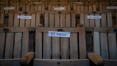 Un siège sur deux sera condamné pour chaque rassemblement culturel afin de respecter la distanciation physique entre les spectateurs.