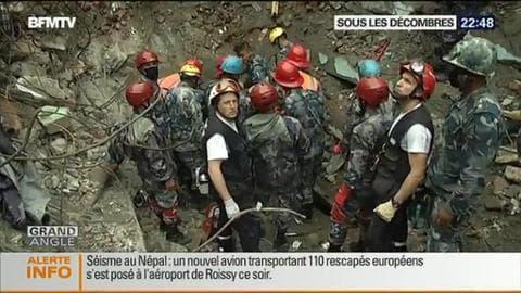 Le Népal sous les décombres