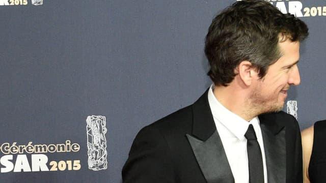 Guillaume Canet et Marion Cotillard lors de la cérémonie des César en 2015.
