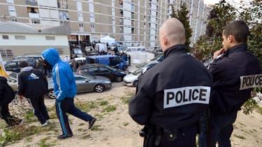 La police a réalisé un coup de filet anti-drogue à Saint-Ouen lundi