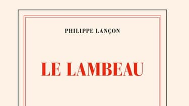 """Philippe Lançon est lauréat du prix Femina avec son livre """"Le Lambeau"""", édité chez Gallimard."""