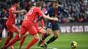 Kylian Mbappé (PSG) face au Nîmes Olympique