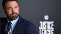 """Ben Affleck à l'avant première de """"Justice League"""", le 13 novembre 2017"""