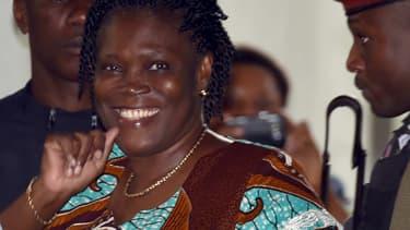 L'ancienne Première dame de Côte d'Ivoire, arrivant à la Cour de Justice d'Abidjan, le 23 février 2015. (Photo d'illustration)